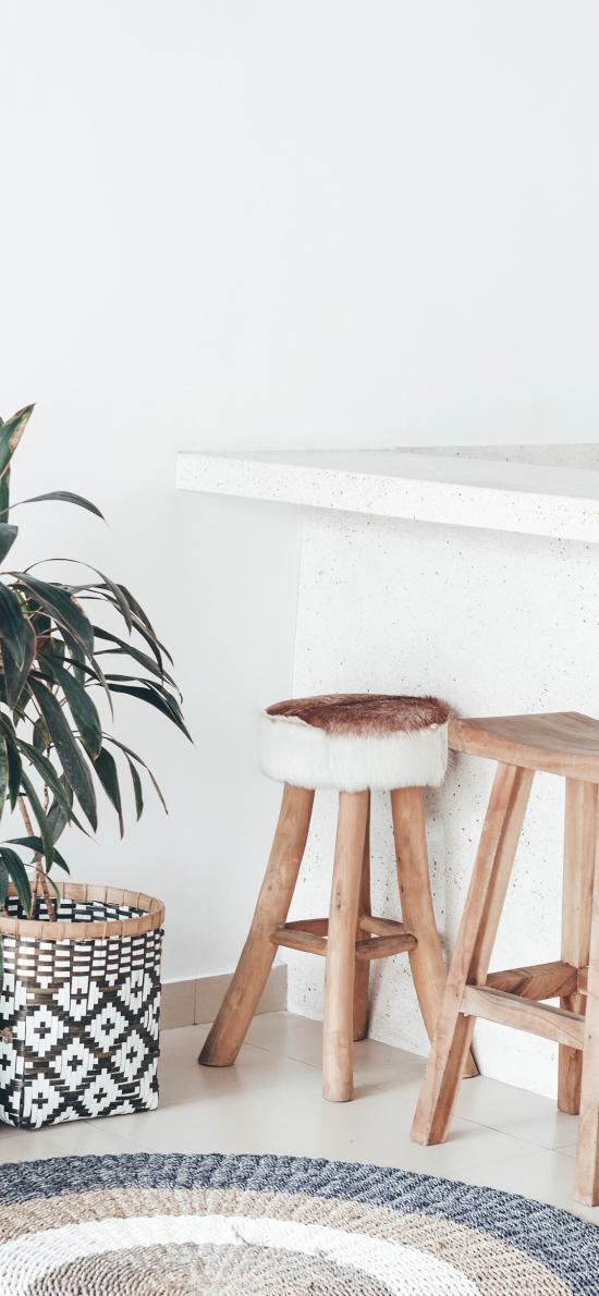 静物 桌椅 椅子 绿植 家居