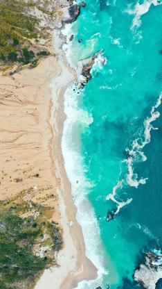 海边 海岸 沙滩 大海 海浪