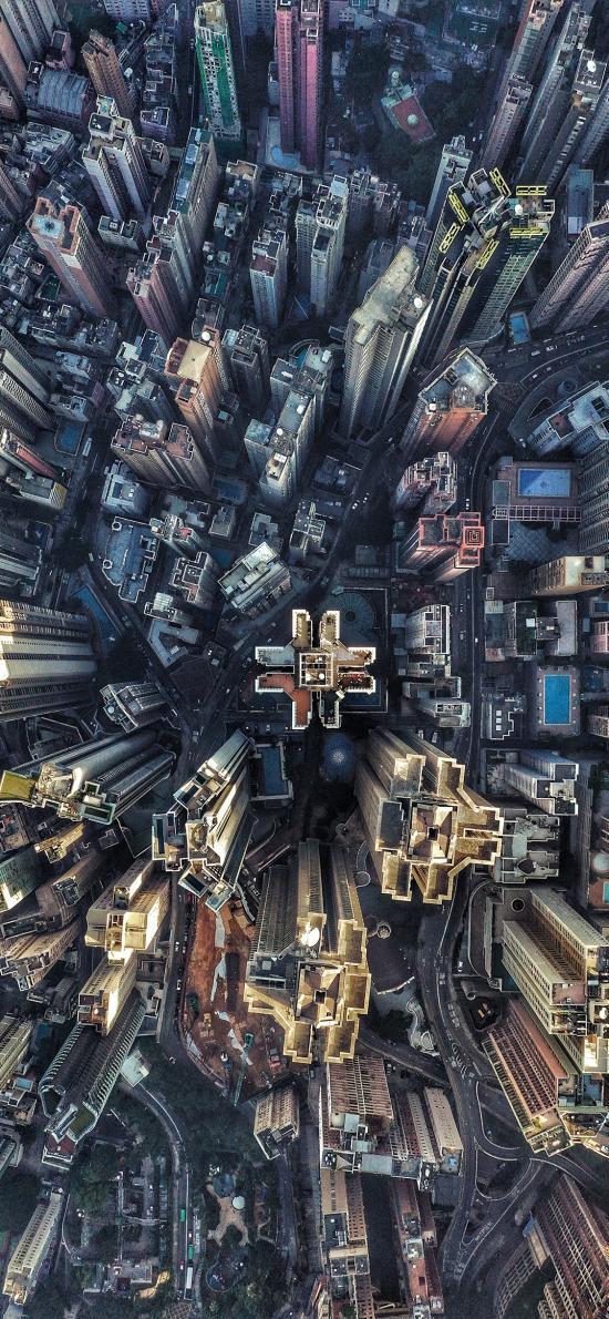 城市 建筑 高楼 航拍