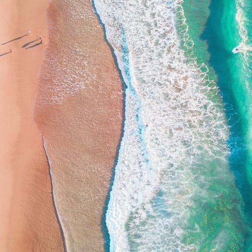 海浪 浪花 沙滩 大海