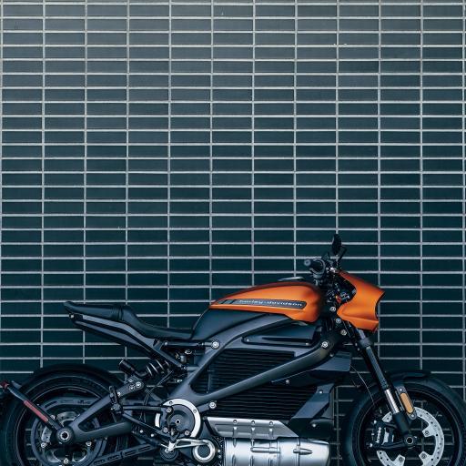机车 摩托车 砖墙 瓷砖 炫酷