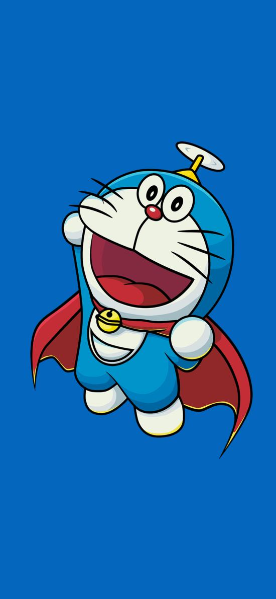 哆啦A梦 叮当猫 蓝色 动画