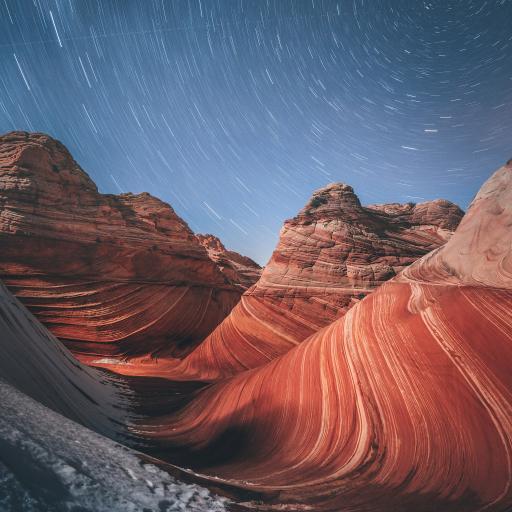 星空 荒漠 大自然 隔壁 侵蚀