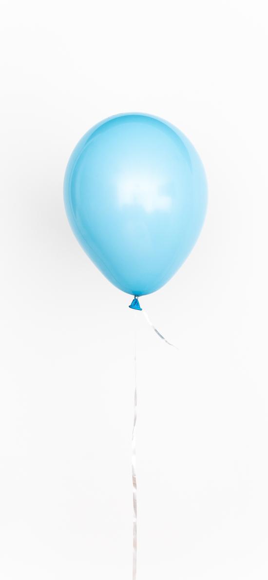 气球 蓝色 线 装饰