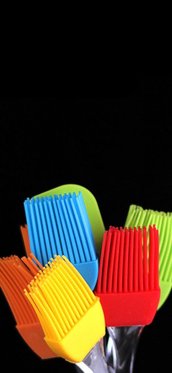 工具 油刷 色彩 硅胶