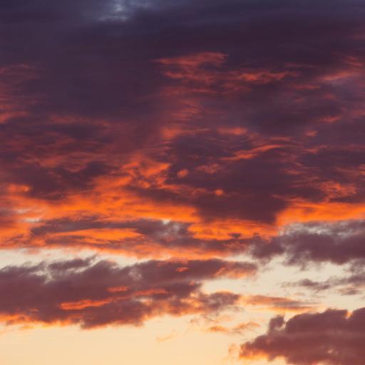 云空 红霞 唯美 自然