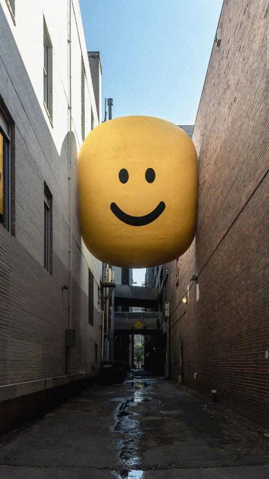 笑脸 表情 街道 微笑
