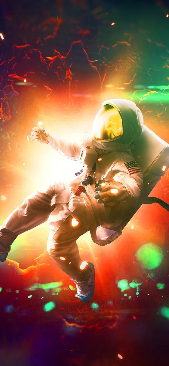 宇航员 太空服 宇宙 神秘 科学