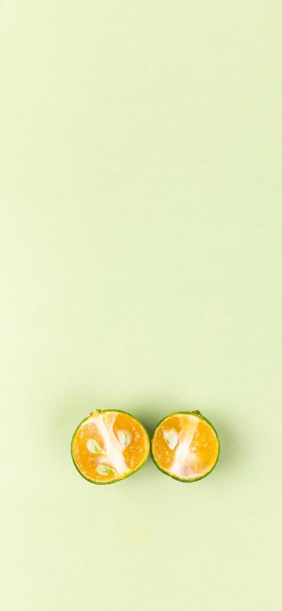 水果 金桔 切半 新鲜