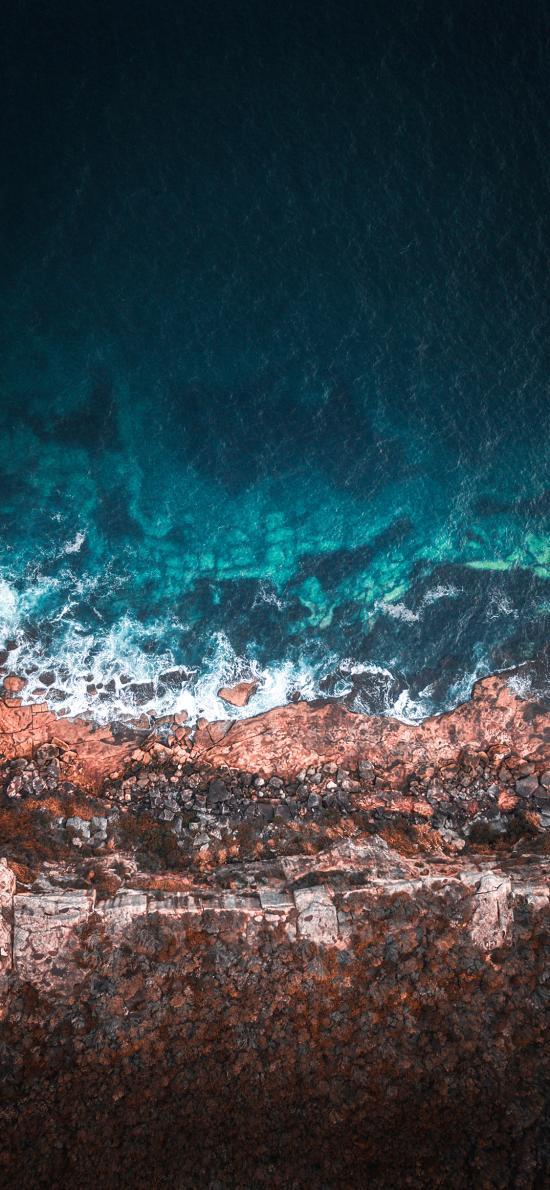 海岸 海水 海浪 大海
