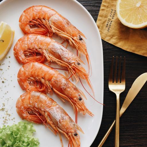 虾 海鲜 盐焗 餐具