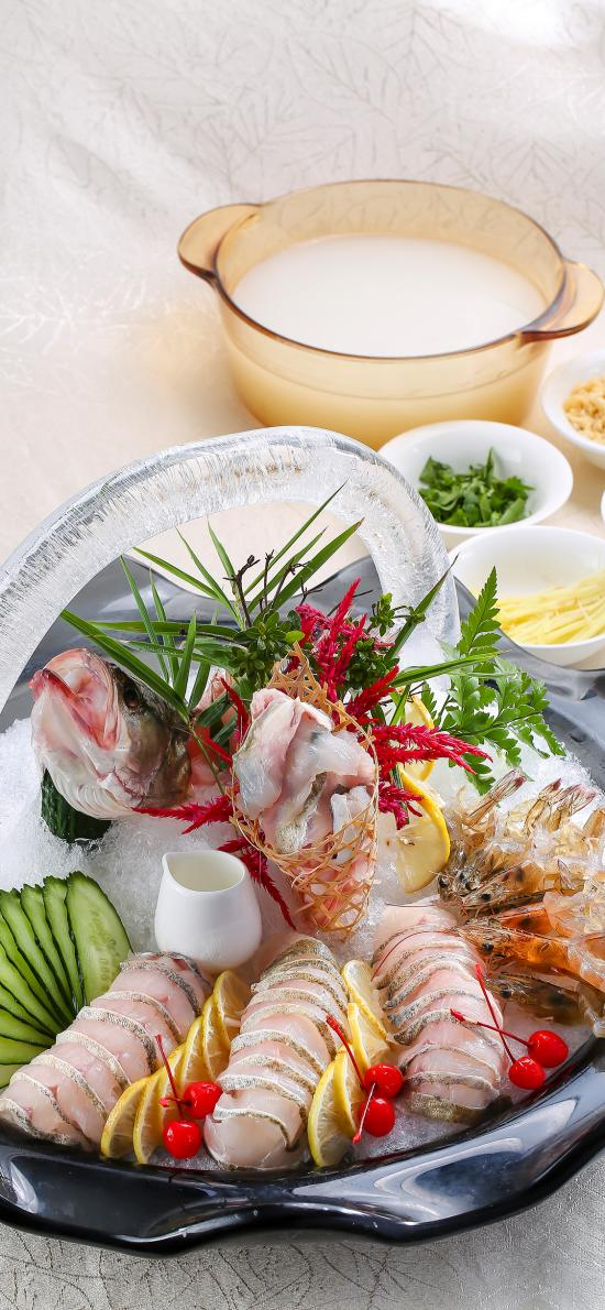 日式 刺身 生鱼片 海虾