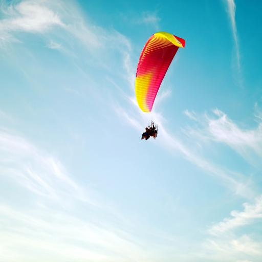 跳伞 极限 天空 蔚蓝