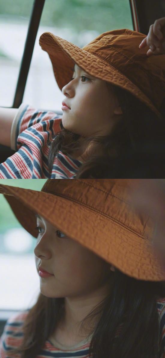 刘楚恬 小葡萄 小女孩 儿童 帽子