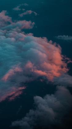 云彩 云层 高空 彩霞