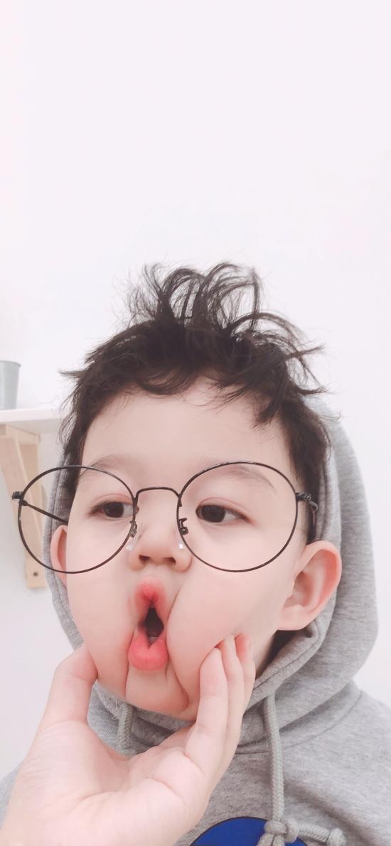 李浠晗 小男孩 可爱 儿童 捏脸