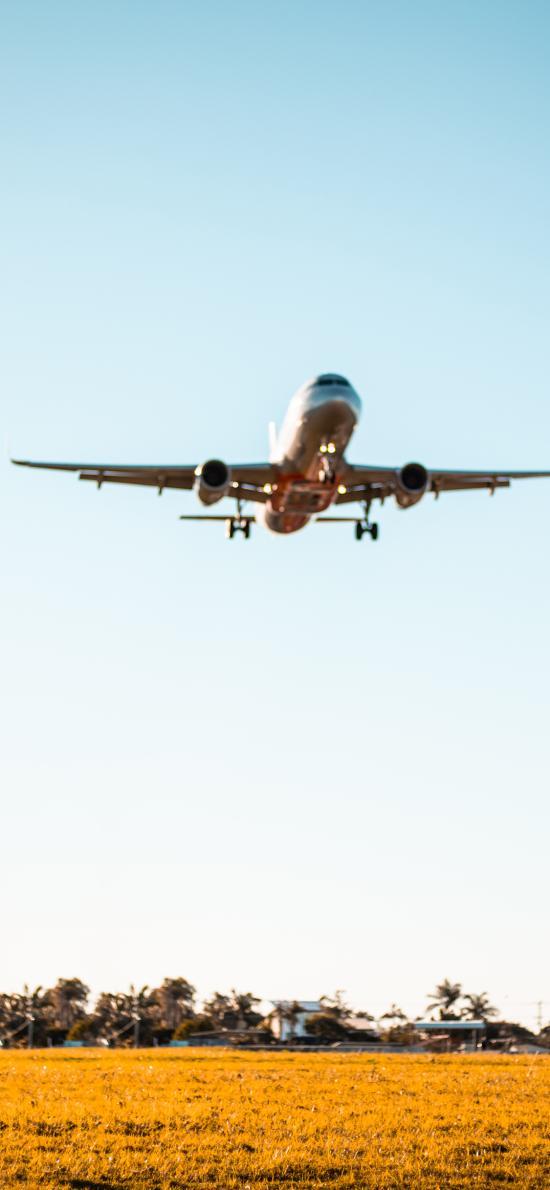 飞机 飞行 升空 天空 广阔