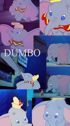 迪士尼 动画人物 马戏团 小飞象