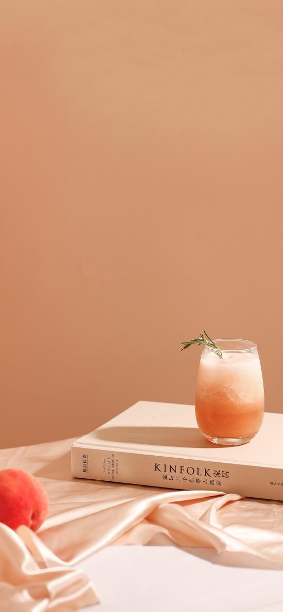 饮品 果汁 桃子 水蜜桃 冰沙