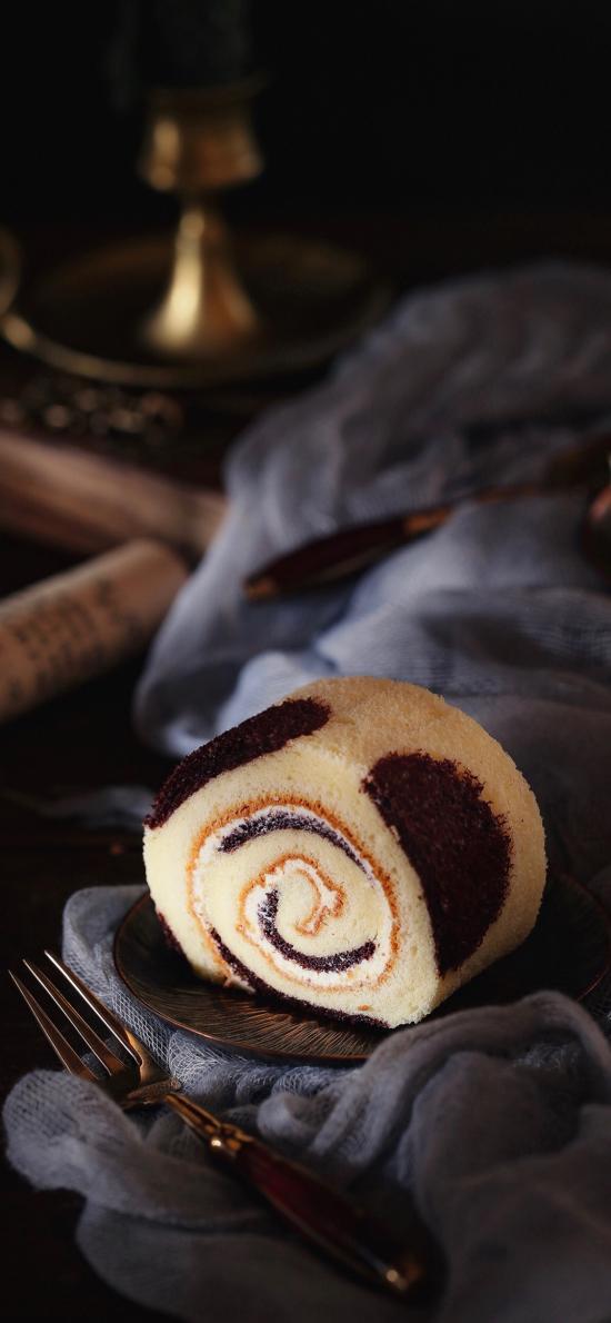 烘焙 点心 蛋糕卷 甜品