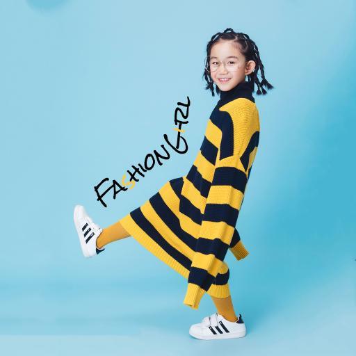 童模 写真 服饰 小辫子 女孩 可爱