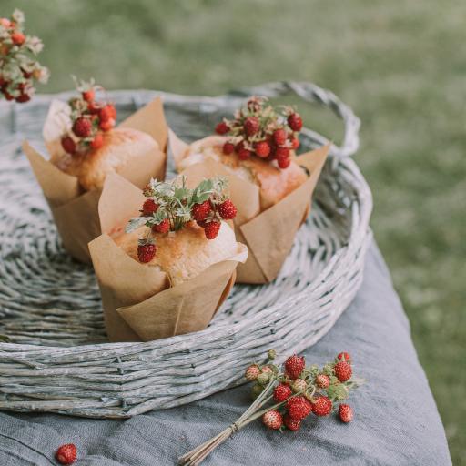 甜品 野草莓 糕点 蛋糕