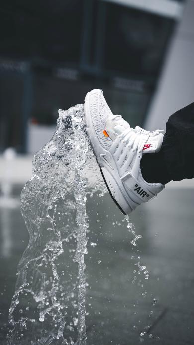 品牌 Nike 耐克 鞋子 水花