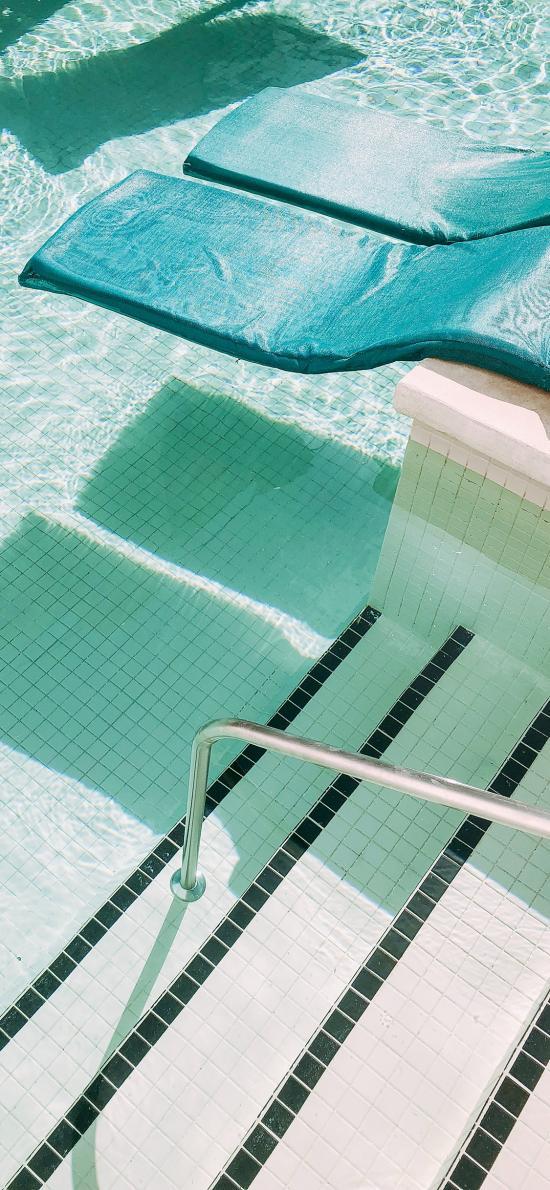休闲 度假 泳池 垫子