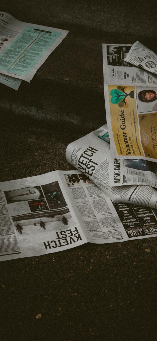 静物 报纸 新闻 印刷