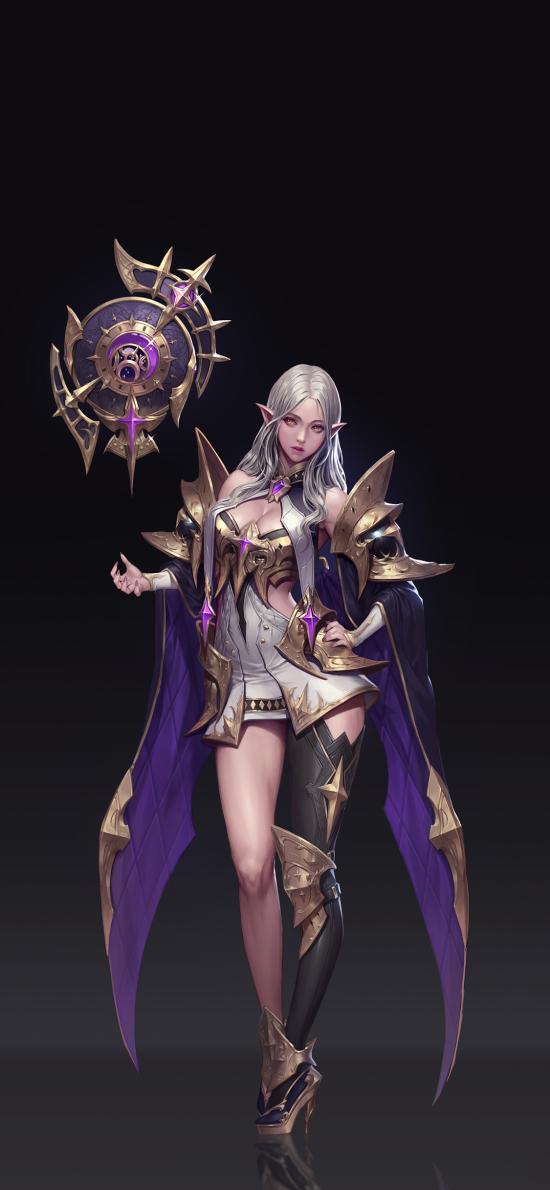 游戏 女角 占星 精灵耳