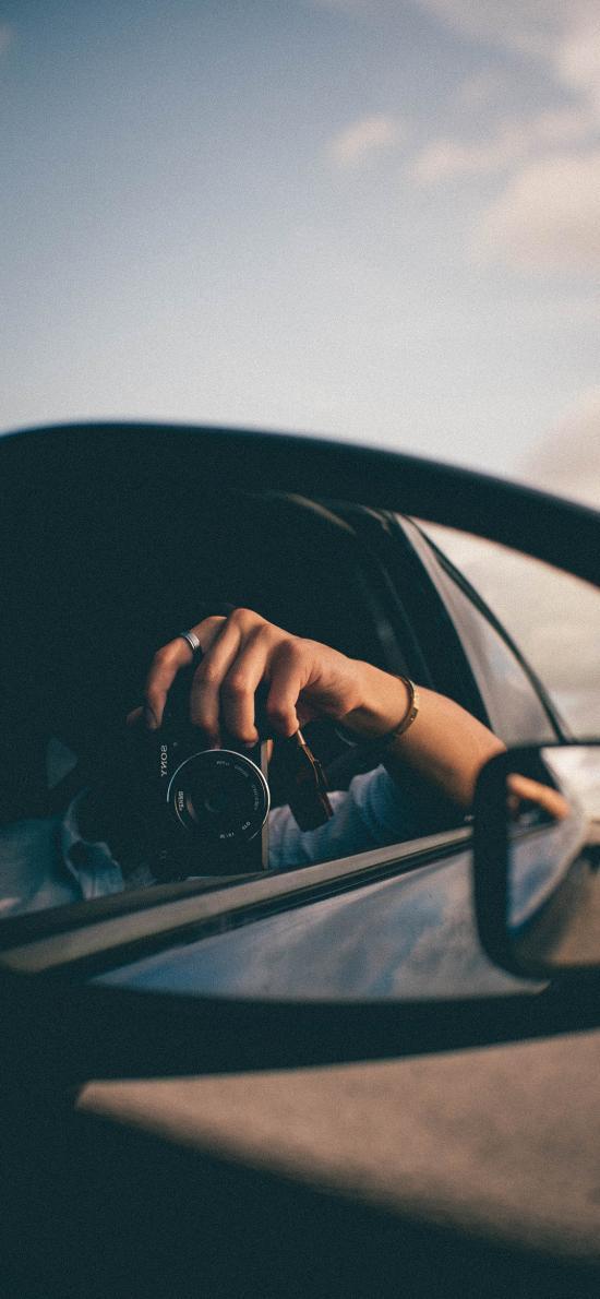 车镜 相机 摄影 拍摄
