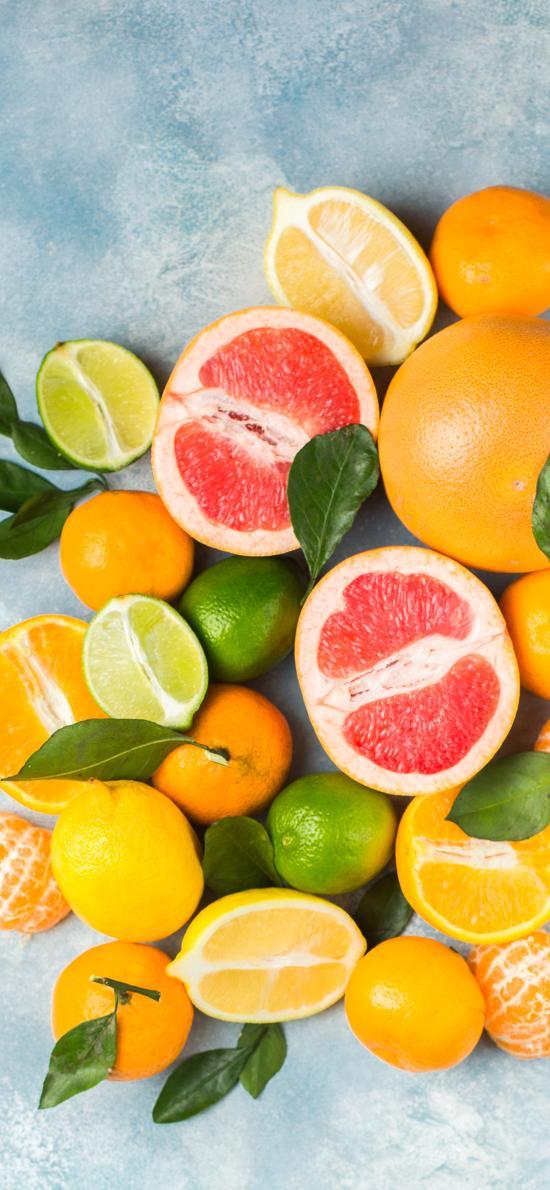 水果 西柚 柠檬 柑橘 橙