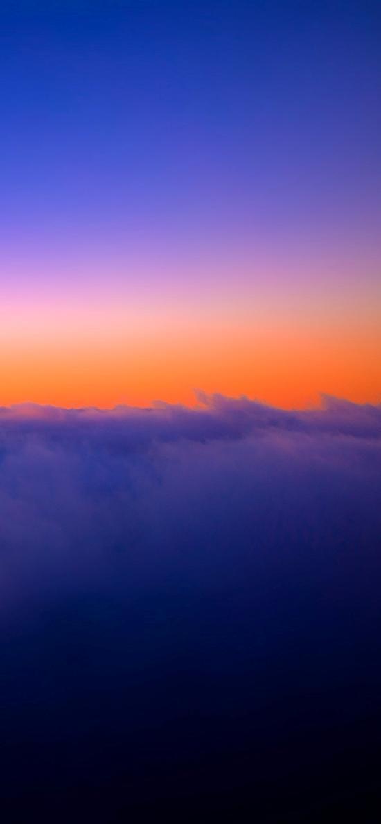 自然 美景 云空 红霞