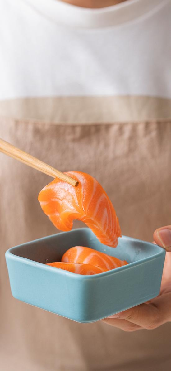 日式 刺身 三文鱼 生鱼片
