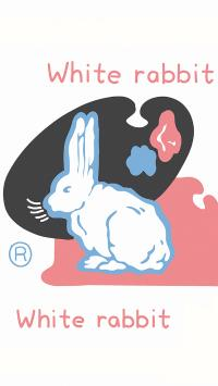 大白兔 white rabbit 品牌 奶糖