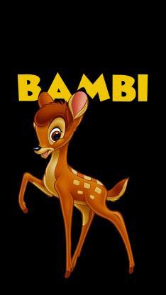 迪士尼 动画 小鹿斑比(取自微博:G195)