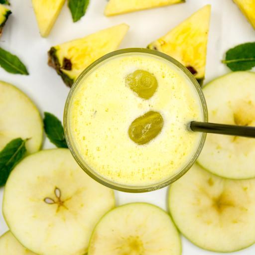 果汁 菠萝 梨 饮品