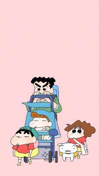 蜡笔小新  动画 卡通 日本