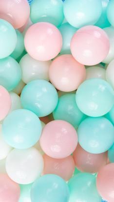 玩具 海洋球 球体 色彩