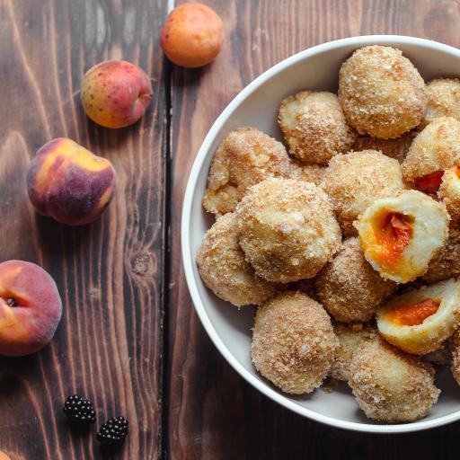 甜品 水果 桃子 杏