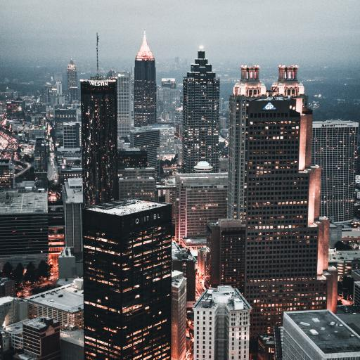 城市 建筑 高楼大厦 夜景