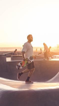 滑板 运动 竞技 场地