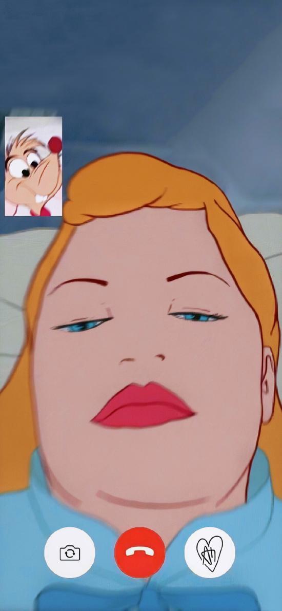 迪士尼 公主 恶搞 视频 大脸