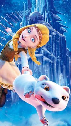 冰雪女王4 魔镜世界 电影 海报