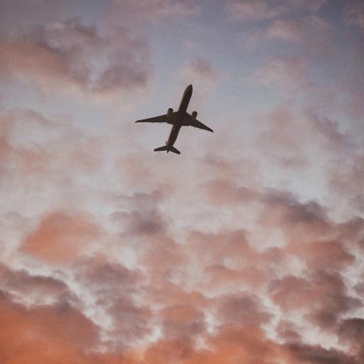 飞机 云彩 鳞云 航空
