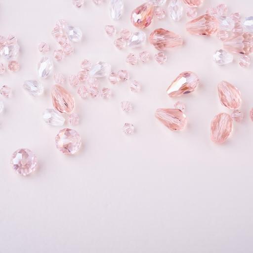 颗粒 晶莹 粉晶 水钻