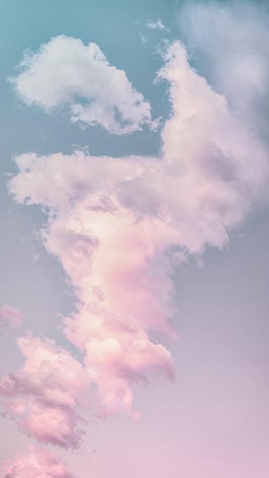 云彩 渐变 云朵 天空