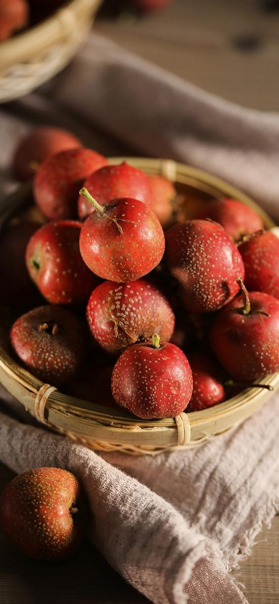 野果 红果 山楂 酸