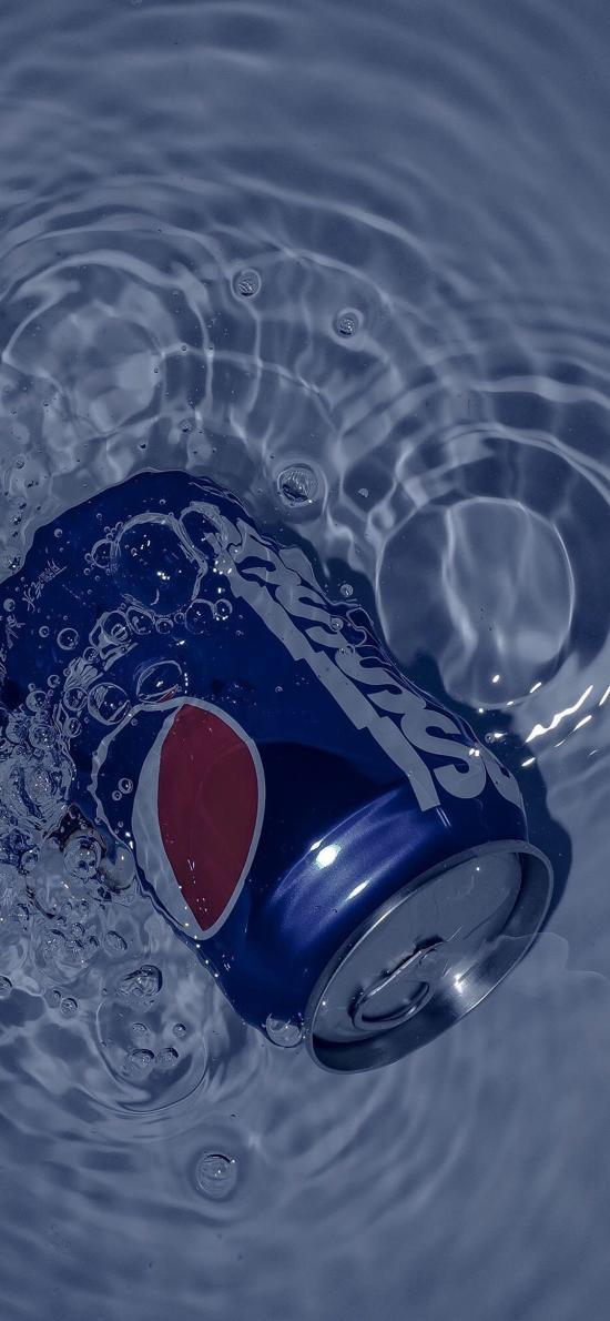 百事 可乐 碳酸 易拉罐