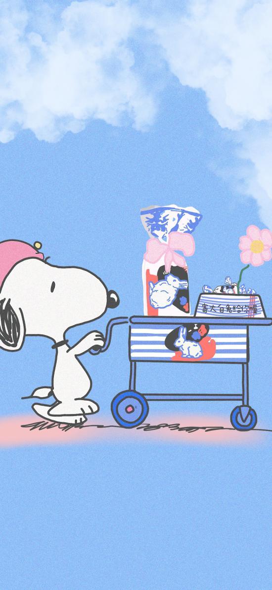 美国 花生漫画 史努比 大白兔奶糖(取自微博:寄喜饼给你喔)